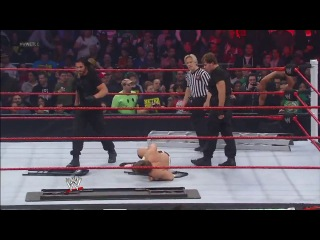 [#3W] Ryback and Team Hell No vs. The Shield (Six-Man Tables, Ladders & Chairs Match) - WWE TLC 2012